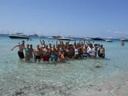 Vacaciones para solteros en Ibiza - Espalmador